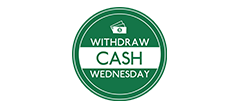 Withdraw Cash Wednesday Logo